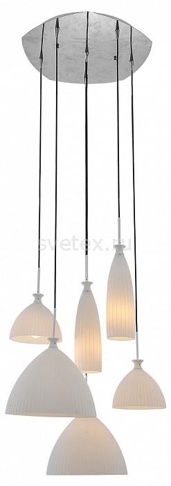 Подвесная люстра LightstarЛюстры<br>Артикул - LS_810160,Бренд - Lightstar (Италия),Коллекция - Agola,Гарантия, месяцы - 24,Высота, мм - 600-1500,Диаметр, мм - 600,Тип лампы - компактная люминесцентная [КЛЛ] ИЛИнакаливания ИЛИсветодиодная [LED],Общее кол-во ламп - 6,Напряжение питания лампы, В - 220,Максимальная мощность лампы, Вт - 40,Лампы в комплекте - отсутствуют,Цвет плафонов и подвесок - белый,Тип поверхности плафонов - матовый,Материал плафонов и подвесок - стекло,Цвет арматуры - хром,Тип поверхности арматуры - глянцевый,Материал арматуры - металл,Количество плафонов - 6,Возможность подлючения диммера - можно, если установить лампу накаливания,Тип цоколя лампы - E14,Класс электробезопасности - I,Общая мощность, Вт - 240,Степень пылевлагозащиты, IP - 20,Диапазон рабочих температур - комнатная температура,Дополнительные параметры - способ крепления к потолку - на монтажной пластине, регулируется по высоте<br>