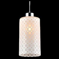 Подвесной светильник EurosvetСветодиодные<br>Артикул - EV_76419,Бренд - Eurosvet (Китай),Коллекция - 50011,Гарантия, месяцы - 24,Высота, мм - 950,Диаметр, мм - 120,Тип лампы - компактная люминесцентная [КЛЛ] ИЛИнакаливания ИЛИсветодиодная [LED],Общее кол-во ламп - 1,Напряжение питания лампы, В - 220,Максимальная мощность лампы, Вт - 60,Лампы в комплекте - отсутствуют,Цвет плафонов и подвесок - белый с рисунком,Тип поверхности плафонов - матовый,Материал плафонов и подвесок - стекло,Цвет арматуры - хром,Тип поверхности арматуры - глянцевый,Материал арматуры - металл,Возможность подлючения диммера - можно, если установить лампу накаливания,Тип цоколя лампы - E27,Класс электробезопасности - I,Степень пылевлагозащиты, IP - 20,Диапазон рабочих температур - комнатная температура,Дополнительные параметры - способ крепления светильника к потолку - на монтажной пластине, регулируется по высоте<br>