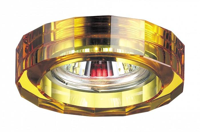 Фото Встраиваемый светильник Novotech Glass 369490