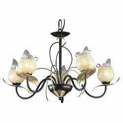 Подвесная люстра Odeon Light5 или 6 ламп<br>Артикул - OD_2691_5,Бренд - Odeon Light (Италия),Коллекция - Anaba,Гарантия, месяцы - 24,Высота, мм - 360,Диаметр, мм - 590,Тип лампы - галогеновая,Общее кол-во ламп - 5,Напряжение питания лампы, В - 220,Максимальная мощность лампы, Вт - 60,Лампы в комплекте - галогеновые G9,Цвет плафонов и подвесок - желтый с неокрашенной каймой,Тип поверхности плафонов - глянцевый, прозрачный,Материал плафонов и подвесок - стекло,Цвет арматуры - золото, коричневый,Тип поверхности арматуры - глянцевый,Материал арматуры - металл,Возможность подлючения диммера - можно,Форма и тип колбы - пальчиковая,Тип цоколя лампы - G9,Класс электробезопасности - I,Общая мощность, Вт - 300,Степень пылевлагозащиты, IP - 20,Диапазон рабочих температур - комнатная температура,Дополнительные параметры - указана высота светильника без подвеса<br>