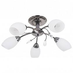 Люстра на штанге Mobitlux5 или 6 ламп<br>Артикул - MB_703.00,Бренд - Mobitlux (Австрия),Коллекция - MB-703,Гарантия, месяцы - 24,Высота, мм - 200,Диаметр, мм - 550,Тип лампы - компактная люминесцентная [КЛЛ] ИЛИнакаливания ИЛИсветодиодная [LED],Общее кол-во ламп - 5,Напряжение питания лампы, В - 220,Максимальная мощность лампы, Вт - 60,Лампы в комплекте - отсутствуют,Цвет плафонов и подвесок - белый, неокрашенный,Тип поверхности плафонов - матовый,Материал плафонов и подвесок - стекло,Цвет арматуры - черный никель,Тип поверхности арматуры - глянцевый,Материал арматуры - металл,Возможность подлючения диммера - можно, если установить лампу накаливания,Тип цоколя лампы - E14,Класс электробезопасности - I,Общая мощность, Вт - 300,Степень пылевлагозащиты, IP - 20,Диапазон рабочих температур - комнатная температура<br>