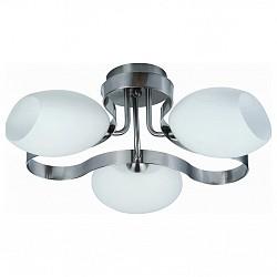 Потолочная люстра IDLampНе более 4 ламп<br>Артикул - ID_601_3PF-SUNwhitechrome,Бренд - IDLamp (Италия),Коллекция - 601,Гарантия, месяцы - 24,Время изготовления, дней - 1,Высота, мм - 280,Диаметр, мм - 430,Тип лампы - компактная люминесцентная [КЛЛ] ИЛИнакаливания ИЛИсветодиодная [LED],Общее кол-во ламп - 3,Напряжение питания лампы, В - 220,Максимальная мощность лампы, Вт - 60,Лампы в комплекте - отсутствуют,Цвет плафонов и подвесок - белый,Тип поверхности плафонов - матовый,Материал плафонов и подвесок - стекло,Цвет арматуры - никель,Тип поверхности арматуры - глянцевый,Материал арматуры - металл,Возможность подлючения диммера - можно, если установить лампу накаливания,Тип цоколя лампы - E14,Класс электробезопасности - I,Общая мощность, Вт - 180,Степень пылевлагозащиты, IP - 20,Диапазон рабочих температур - комнатная температура,Дополнительные параметры - способ крепления светильника к потолку — на монтажной пластине<br>