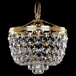 Подвесной светильник Bohemia Ivele CrystalБез плафонов<br>Артикул - BI_1928_20_G,Бренд - Bohemia Ivele Crystal (Чехия),Коллекция - 1928,Гарантия, месяцы - 12,Высота, мм - 200,Диаметр, мм - 200,Размер упаковки, мм - 270x270x300,Тип лампы - компактная люминесцентная [КЛЛ] ИЛИнакаливания ИЛИсветодиодная [LED],Общее кол-во ламп - 1,Напряжение питания лампы, В - 220,Максимальная мощность лампы, Вт - 60,Лампы в комплекте - отсутствуют,Цвет плафонов и подвесок - неокрашенный,Тип поверхности плафонов - прозрачный,Материал плафонов и подвесок - хрусталь,Цвет арматуры - золото,Тип поверхности арматуры - глянцевый, рельефный,Материал арматуры - металл,Возможность подлючения диммера - можно, если установить лампу накаливания,Тип цоколя лампы - E27,Класс электробезопасности - I,Степень пылевлагозащиты, IP - 20,Диапазон рабочих температур - комнатная температура,Дополнительные параметры - способ крепления светильника к потолку – на крюке<br>