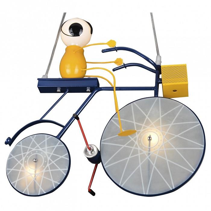 Подвесной светильник Kink LightСветильники для ДЕТСКОЙ<br>Артикул - KL_07472,Бренд - Kink Light (Китай),Коллекция - Велосипед,Гарантия, месяцы - 12,Длина, мм - 500,Ширина, мм - 150,Высота, мм - 800-1000,Тип лампы - компактные люминесцентные [КЛЛ] ИЛИнакаливания ИЛИсветодиодные [LED],Количество ламп - 2, 1,Общее кол-во ламп - 3,Напряжение питания лампы, В - 220,Максимальная мощность лампы, Вт - 40,Лампы в комплекте - отсутствуют,Цвет плафонов и подвесок - белый,Тип поверхности плафонов - матовый,Материал плафонов и подвесок - полимер,Цвет арматуры - белый, оранжевый, синий,Тип поверхности арматуры - матовый,Материал арматуры - акрил, металл,Количество плафонов - 2,Возможность подлючения диммера - можно, если установить лампу накаливания,Тип цоколя лампы - E14, E27,Класс электробезопасности - I,Общая мощность, Вт - 120,Степень пылевлагозащиты, IP - 20,Диапазон рабочих температур - комнатная температура,Дополнительные параметры - способ крепления светильника к потолку - на монтажной пластине, регулируется по высоте<br>