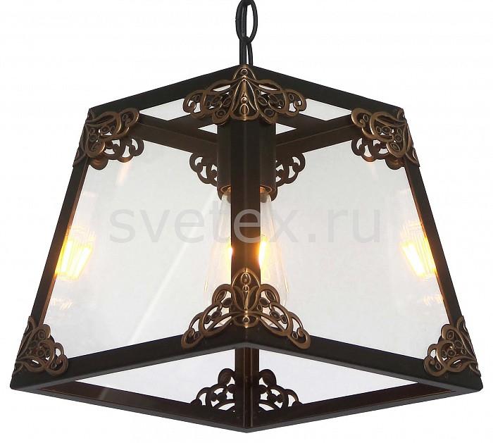 Подвесной светильник FavouriteБарные<br>Артикул - FV_1802-1P,Бренд - Favourite (Германия),Коллекция - Gloke,Гарантия, месяцы - 24,Время изготовления, дней - 1,Длина, мм - 250,Ширина, мм - 250,Высота, мм - 245-1060,Тип лампы - компактная люминесцентная [КЛЛ] ИЛИнакаливания ИЛИсветодиодная [LED],Общее кол-во ламп - 1,Напряжение питания лампы, В - 220,Максимальная мощность лампы, Вт - 60,Лампы в комплекте - отсутствуют,Цвет плафонов и подвесок - неокрашенный, черный с золоченым орнаментом,Тип поверхности плафонов - матовый, прозрачный,Материал плафонов и подвесок - металл, стекло,Цвет арматуры - черный,Тип поверхности арматуры - матовый,Материал арматуры - металл,Количество плафонов - 1,Возможность подлючения диммера - можно, если установить лампу накаливания,Форма и тип колбы - свеча,Тип цоколя лампы - E27,Класс электробезопасности - I,Степень пылевлагозащиты, IP - 20,Диапазон рабочих температур - комнатная температура,Дополнительные параметры - регулируется по высоте, способ крепления светильника к потолку – на монтажной пластине<br>