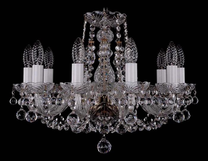 Фото Подвесная люстра Bohemia Ivele Crystal 1406 1406/10/160/Pa/Balls