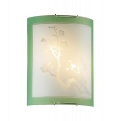 Накладной светильник SonexСветодиодные<br>Артикул - SN_2245,Бренд - Sonex (Россия),Коллекция - Sakura,Гарантия, месяцы - 24,Время изготовления, дней - 1,Высота, мм - 275,Тип лампы - компактная люминесцентная [КЛЛ] ИЛИнакаливания ИЛИсветодиодная [LED],Общее кол-во ламп - 2,Напряжение питания лампы, В - 220,Максимальная мощность лампы, Вт - 60,Лампы в комплекте - отсутствуют,Цвет плафонов и подвесок - белый с рисунком и зеленой каймой,Тип поверхности плафонов - матовый,Материал плафонов и подвесок - стекло,Цвет арматуры - хром,Тип поверхности арматуры - глянцевый,Материал арматуры - металл,Возможность подлючения диммера - можно, если установить лампу накаливания,Тип цоколя лампы - E27,Класс электробезопасности - I,Общая мощность, Вт - 120,Степень пылевлагозащиты, IP - 20,Диапазон рабочих температур - комнатная температура<br>