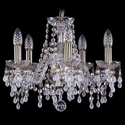 Подвесная люстра Bohemia Ivele Crystal5 или 6 ламп<br>Артикул - BI_1410_5_141_Pa_v0300,Бренд - Bohemia Ivele Crystal (Чехия),Коллекция - 1410,Гарантия, месяцы - 24,Высота, мм - 340,Диаметр, мм - 420,Размер упаковки, мм - 450x450x200,Тип лампы - компактная люминесцентная [КЛЛ] ИЛИнакаливания ИЛИсветодиодная [LED],Общее кол-во ламп - 5,Напряжение питания лампы, В - 220,Максимальная мощность лампы, Вт - 40,Лампы в комплекте - отсутствуют,Цвет плафонов и подвесок - белый, неокрашенный,Тип поверхности плафонов - матовый, прозрачный,Материал плафонов и подвесок - хрусталь,Цвет арматуры - золото с патиной, неокрашенный,Тип поверхности арматуры - глянцевый, прозрачный, рельефный,Материал арматуры - металл, стекло,Возможность подлючения диммера - можно, если установить лампу накаливания,Форма и тип колбы - свеча ИЛИ свеча на ветру,Тип цоколя лампы - E14,Класс электробезопасности - I,Общая мощность, Вт - 200,Степень пылевлагозащиты, IP - 20,Диапазон рабочих температур - комнатная температура,Дополнительные параметры - способ крепления светильника к потолку - на крюке, указана высота светильника без подвеса<br>