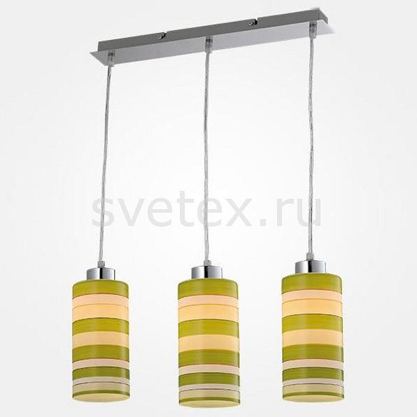 Подвесной светильник EurosvetДля кухни<br>Артикул - EV_78354,Бренд - Eurosvet (Китай),Коллекция - 50044,Гарантия, месяцы - 24,Длина, мм - 440,Ширина, мм - 100,Высота, мм - 800,Тип лампы - компактная люминесцентная [КЛЛ] ИЛИнакаливания ИЛИсветодиодная [LED],Общее кол-во ламп - 3,Напряжение питания лампы, В - 220,Максимальная мощность лампы, Вт - 60,Лампы в комплекте - отсутствуют,Цвет плафонов и подвесок - разноцветный полосатый,Тип поверхности плафонов - матовый,Материал плафонов и подвесок - стекло,Цвет арматуры - хром,Тип поверхности арматуры - глянцевый,Материал арматуры - металл,Количество плафонов - 3,Возможность подлючения диммера - можно, если установить лампу накаливания,Тип цоколя лампы - E27,Класс электробезопасности - I,Общая мощность, Вт - 180,Степень пылевлагозащиты, IP - 20,Диапазон рабочих температур - комнатная температура,Дополнительные параметры - способ крепления светильника к потолку - на монтажной пластине, светильник регулируется по высоте<br>
