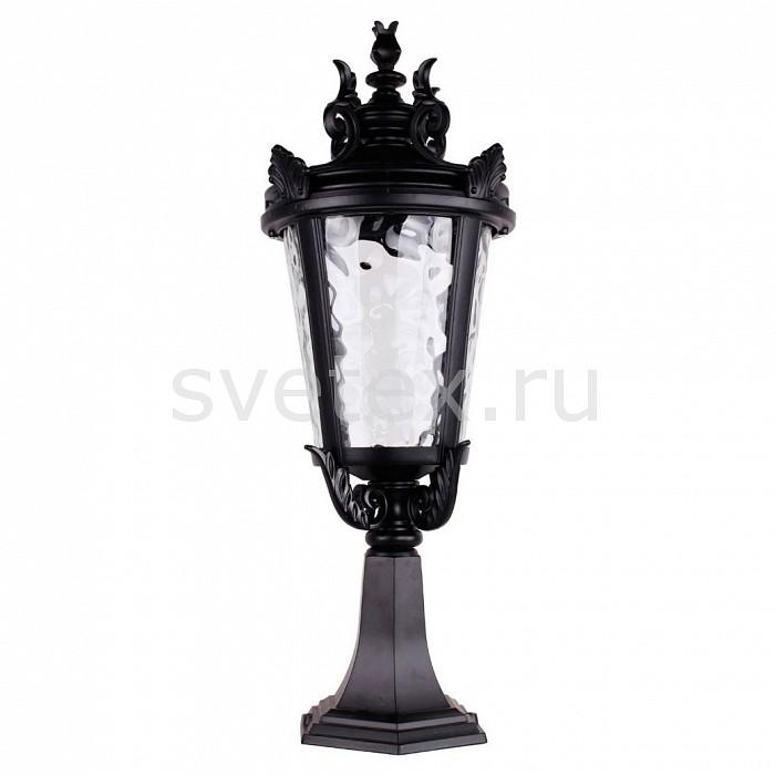 Наземный низкий светильник FeronСветильники<br>Артикул - FE_11368,Бренд - Feron (Китай),Коллекция - Прага,Гарантия, месяцы - 24,Высота, мм - 570,Диаметр, мм - 230,Тип лампы - компактная люминесцентная [КЛЛ] ИЛИнакаливания ИЛИсветодиодная [LED],Общее кол-во ламп - 1,Напряжение питания лампы, В - 220,Максимальная мощность лампы, Вт - 60,Лампы в комплекте - отсутствуют,Цвет плафонов и подвесок - неокрашенный,Тип поверхности плафонов - прозрачный,Материал плафонов и подвесок - стекло,Цвет арматуры - черный,Тип поверхности арматуры - матовый,Материал арматуры - силумин,Количество плафонов - 1,Тип цоколя лампы - E27,Класс электробезопасности - I,Степень пылевлагозащиты, IP - 44,Диапазон рабочих температур - от -40^C до +40^C<br>