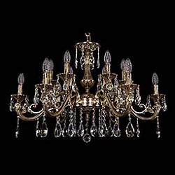 Подвесная люстра Bohemia Ivele CrystalБолее 6 ламп<br>Артикул - BI_1703_12_A_GB,Бренд - Bohemia Ivele Crystal (Чехия),Коллекция - 1703,Гарантия, месяцы - 24,Высота, мм - 510,Диаметр, мм - 830,Размер упаковки, мм - 710x710x240,Тип лампы - компактная люминесцентная [КЛЛ] ИЛИнакаливания ИЛИсветодиодная [LED],Общее кол-во ламп - 12,Напряжение питания лампы, В - 220,Максимальная мощность лампы, Вт - 40,Лампы в комплекте - отсутствуют,Цвет плафонов и подвесок - неокрашенный,Тип поверхности плафонов - прозрачный,Материал плафонов и подвесок - хрусталь,Цвет арматуры - золото черненое,Тип поверхности арматуры - глянцевый, рельефный,Материал арматуры - латунь,Возможность подлючения диммера - можно, если установить лампу накаливания,Форма и тип колбы - свеча ИЛИ свеча на ветру,Тип цоколя лампы - E14,Класс электробезопасности - I,Общая мощность, Вт - 480,Степень пылевлагозащиты, IP - 20,Диапазон рабочих температур - комнатная температура,Дополнительные параметры - способ крепления светильника к потолку - на крюке, указана высота светильника без подвеса<br>