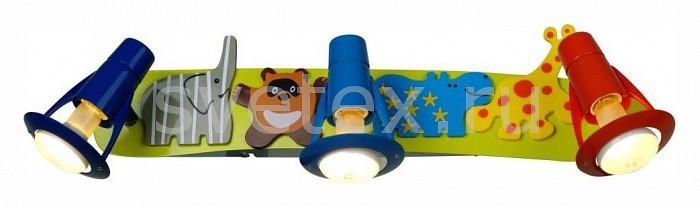 Спот CitiluxС 3 лампами<br>Артикул - CL602531,Бренд - Citilux (Дания),Коллекция - Зоопарк,Гарантия, месяцы - 24,Время изготовления, дней - 1,Длина, мм - 480,Ширина, мм - 100,Выступ, мм - 110,Тип лампы - компактная люминесцентная [КЛЛ] ИЛИнакаливания ИЛИсветодиодная [LED],Общее кол-во ламп - 3,Напряжение питания лампы, В - 220,Максимальная мощность лампы, Вт - 60,Лампы в комплекте - отсутствуют,Цвет арматуры - разноцветный,Тип поверхности арматуры - глянцевый,Материал арматуры - металл,Возможность подлючения диммера - можно, если установить лампу накаливания,Форма и тип колбы - груша плоская с рефлектором,Тип цоколя лампы - E14,Класс электробезопасности - I,Общая мощность, Вт - 180,Степень пылевлагозащиты, IP - 20,Диапазон рабочих температур - комнатная температура,Дополнительные параметры - поворотный светильник, рефлекторная лампа R50 (диаметр колбы 50 мм) или аналоги<br>