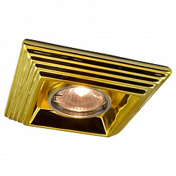 Встраиваемый светильник Arte LampКвадратные<br>Артикул - AR_A5249PL-1GO,Бренд - Arte Lamp (Италия),Коллекция - Plaster,Гарантия, месяцы - 24,Тип лампы - галогеновая,Общее кол-во ламп - 1,Напряжение питания лампы, В - 220,Максимальная мощность лампы, Вт - 50,Лампы в комплекте - галогеновая GU10,Цвет арматуры - золото,Тип поверхности арматуры - глянцевый, рельефный,Материал арматуры - керамика,Форма и тип колбы - полусферическая с рефлектором,Тип цоколя лампы - GU10,Класс электробезопасности - I,Степень пылевлагозащиты, IP - 23,Диапазон рабочих температур - комнатная температура<br>