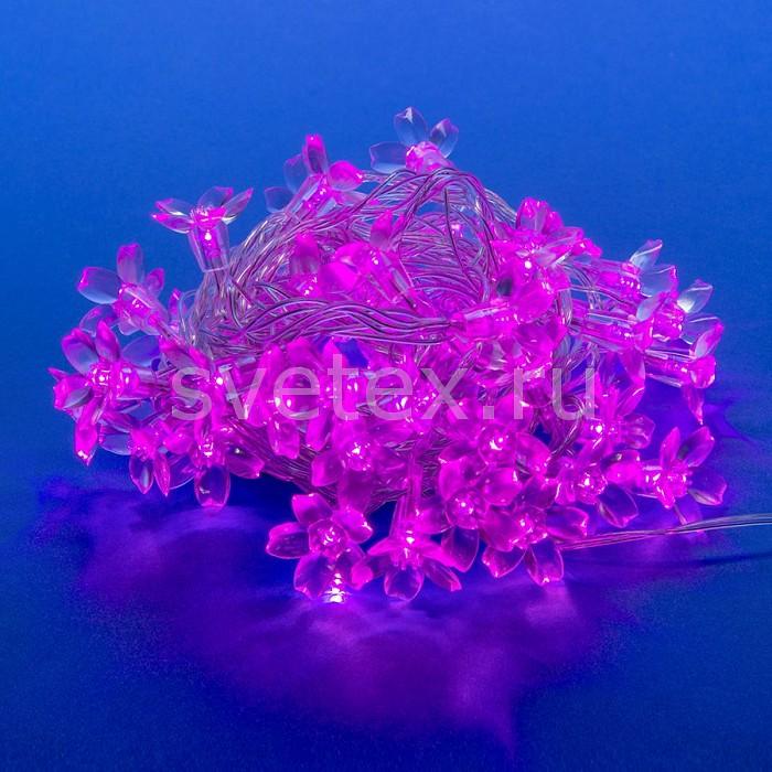 Гирлянда с насадками (7 м) UnielГирлянды с насадками<br>Артикул - UL_07933,Бренд - Uniel (Китай),Коллекция - Сакура розовая,Гарантия, месяцы - 24,Длина, мм - 7000,Длина - 7 м,Тип лампы - светодиодные [LED],Общее кол-во ламп - 50,Максимальная мощность лампы, Вт - 0.35,Цвет лампы - розовый,Лампы в комплекте - светодиодные [LED],Цвет плафонов и подвесок - неокрашенный,Тип поверхности плафонов - прозрачный,Материал плафонов и подвесок - полимер,Количество плафонов - 50,Ресурс лампы - 30 тыс. часов,Цвет провода - серый,Материал провода - полимер,Класс электробезопасности - I,Напряжение питания, В - 220,Общая мощность, Вт - 17,Степень пылевлагозащиты, IP - 20,Диапазон рабочих температур - комнатная температура,Дополнительные параметры - гирлянда может использоваться только внутри помещения<br>