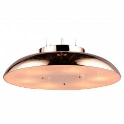 Подвесной светильник MaytoniСветодиодные<br>Артикул - MY_CL814-06-G,Бренд - Maytoni (Германия),Коллекция - Differentos,Гарантия, месяцы - 24,Высота, мм - 130,Диаметр, мм - 500,Тип лампы - компактная люминесцентная [КЛЛ] ИЛИнакаливания ИЛИсветодиодная [LED],Общее кол-во ламп - 6,Напряжение питания лампы, В - 220,Максимальная мощность лампы, Вт - 60,Лампы в комплекте - отсутствуют,Цвет плафонов и подвесок - золото, неокрашенный,Тип поверхности плафонов - глянцевый, матовый,Материал плафонов и подвесок - металл, стекло,Цвет арматуры - золото,Тип поверхности арматуры - глянцевый,Материал арматуры - металл,Возможность подлючения диммера - можно, если установить лампу накаливания,Тип цоколя лампы - E14,Класс электробезопасности - I,Общая мощность, Вт - 360,Степень пылевлагозащиты, IP - 20,Диапазон рабочих температур - комнатная температура,Дополнительные параметры - способ крепления светильника к потолку – на монтажной пластине<br>
