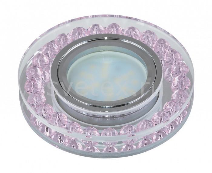 Встраиваемый светильник UnielПотолочные светильники<br>Примечание - прозрачный с розовым декором,Артикул - UL_09986,Бренд - Uniel (Китай),Коллекция - Peonia,Гарантия, месяцы - 24,Высота, мм - 31,Выступ, мм - 16,Глубина, мм - 15,Диаметр, мм - 95,Размер врезного отверстия, мм - d65,Тип лампы - светодиодная (LED), галогеновая,Общее кол-во ламп - 1,Напряжение питания лампы, В - 12,Максимальная мощность лампы, Вт - 35,Лампы в комплекте - отсутствуют,Цвет арматуры - неокрашенный, розовый, хром,Тип поверхности арматуры - глянцевый, прозрачный,Материал арматуры - металл, стекло,Возможность подлючения диммера - можно, если установить галогеновую лампу,Компоненты, входящие в комплект - Трансформатор 12 В,Форма и тип колбы - полусферическая с рефлектором,Тип цоколя лампы - GU5.3,Класс электробезопасности - I,Напряжение питания, В - 220,Степень пылевлагозащиты, IP - 20,Диапазон рабочих температур - комнатная температура<br>