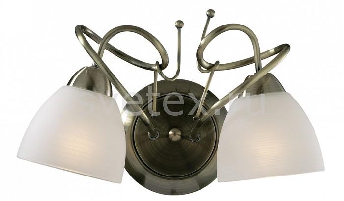 Бра Odeon LightНастенные светильники<br>Артикул - OD_2120_2W,Бренд - Odeon Light (Италия),Коллекция - Kaena,Гарантия, месяцы - 24,Время изготовления, дней - 1,Ширина, мм - 315,Высота, мм - 200,Тип лампы - компактная люминесцентная [КЛЛ] ИЛИнакаливания ИЛИсветодиодная [LED],Общее кол-во ламп - 2,Напряжение питания лампы, В - 220,Максимальная мощность лампы, Вт - 60,Лампы в комплекте - отсутствуют,Цвет плафонов и подвесок - белый,Тип поверхности плафонов - матовый,Материал плафонов и подвесок - стекло,Цвет арматуры - бронза,Тип поверхности арматуры - глянцевый,Материал арматуры - металл,Количество плафонов - 2,Возможность подлючения диммера - можно, если установить лампу накаливания,Тип цоколя лампы - E14,Класс электробезопасности - I,Общая мощность, Вт - 120,Степень пылевлагозащиты, IP - 20,Диапазон рабочих температур - комнатная температура,Дополнительные параметры - светильник предназначен для использования со скрытой проводкой<br>
