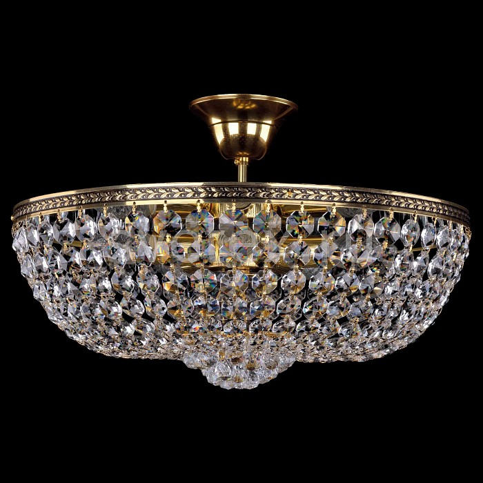Фото Люстра на штанге Bohemia Ivele Crystal 1928 1928/45Z/GB