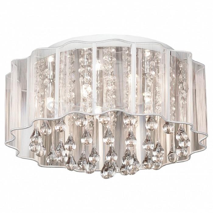 Накладной светильник LussoleКруглые<br>Артикул - LSL-3307-06,Бренд - Lussole (Италия),Коллекция - LSL-3307,Гарантия, месяцы - 24,Высота, мм - 250,Диаметр, мм - 400,Тип лампы - галогеновая,Общее кол-во ламп - 6,Напряжение питания лампы, В - 220,Максимальная мощность лампы, Вт - 40,Цвет лампы - белый теплый,Лампы в комплекте - галогеновые G9,Цвет плафонов и подвесок - белый, неокрашенный,Тип поверхности плафонов - прозрачный,Материал плафонов и подвесок - стекло, органза,Цвет арматуры - хром,Тип поверхности арматуры - глянцевый,Материал арматуры - металл,Количество плафонов - 1,Возможность подлючения диммера - можно,Форма и тип колбы - пальчиковая,Тип цоколя лампы - G9,Цветовая температура, K - 2800 - 3200 K,Экономичнее лампы накаливания - на 50%,Класс электробезопасности - I,Общая мощность, Вт - 240,Степень пылевлагозащиты, IP - 20,Диапазон рабочих температур - комнатная температура,Дополнительные параметры - способ крепления светильника к потолоку - на монтажной пластине<br>
