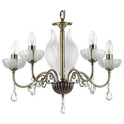 Подвесная люстра Odeon Light5 или 6 ламп<br>Артикул - OD_3138_5,Бренд - Odeon Light (Италия),Коллекция - Perlita,Гарантия, месяцы - 24,Высота, мм - 430,Диаметр, мм - 575,Тип лампы - компактная люминесцентная [КЛЛ] ИЛИнакаливания ИЛИсветодиодная [LED],Общее кол-во ламп - 5,Напряжение питания лампы, В - 220,Максимальная мощность лампы, Вт - 60,Лампы в комплекте - отсутствуют,Цвет плафонов и подвесок - неокрашенный,Тип поверхности плафонов - прозрачный,Материал плафонов и подвесок - хрусталь,Цвет арматуры - бронза, неокрашенный,Тип поверхности арматуры - матовый, прозрачный,Материал арматуры - металл, стекло,Возможность подлючения диммера - можно, если установить лампу накаливания,Форма и тип колбы - свеча ИЛИ свеча на ветру,Тип цоколя лампы - E14,Класс электробезопасности - I,Общая мощность, Вт - 300,Степень пылевлагозащиты, IP - 20,Диапазон рабочих температур - комнатная температура,Дополнительные параметры - способ крепления светильника к потолку - на крюке, регулируется по высоте<br>