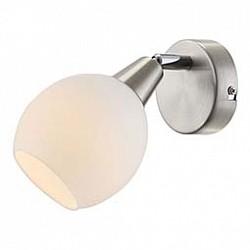 Спот GloboС 1 лампой<br>Артикул - GB_54351-1O,Бренд - Globo (Австрия),Коллекция - Elliot,Гарантия, месяцы - 24,Тип лампы - компактная люминесцентная [КЛЛ] ИЛИнакаливания ИЛИсветодиодная [LED],Общее кол-во ламп - 1,Напряжение питания лампы, В - 220,Максимальная мощность лампы, Вт - 40,Лампы в комплекте - отсутствуют,Цвет плафонов и подвесок - белый,Тип поверхности плафонов - матовый,Материал плафонов и подвесок - стекло,Цвет арматуры - хром,Тип поверхности арматуры - глянцевый,Материал арматуры - металл,Возможность подлючения диммера - можно, если установить лампу накаливания,Тип цоколя лампы - E14,Класс электробезопасности - I,Степень пылевлагозащиты, IP - 20,Диапазон рабочих температур - комнатная температура,Дополнительные параметры - способ крепления светильника к потолку и стене - на монтажной пластине, поворотный светильник<br>
