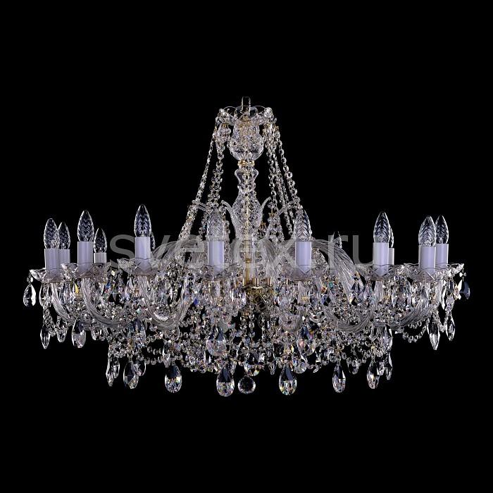Фото Подвесная люстра Bohemia Ivele Crystal 1411 1411/16/360-66/G