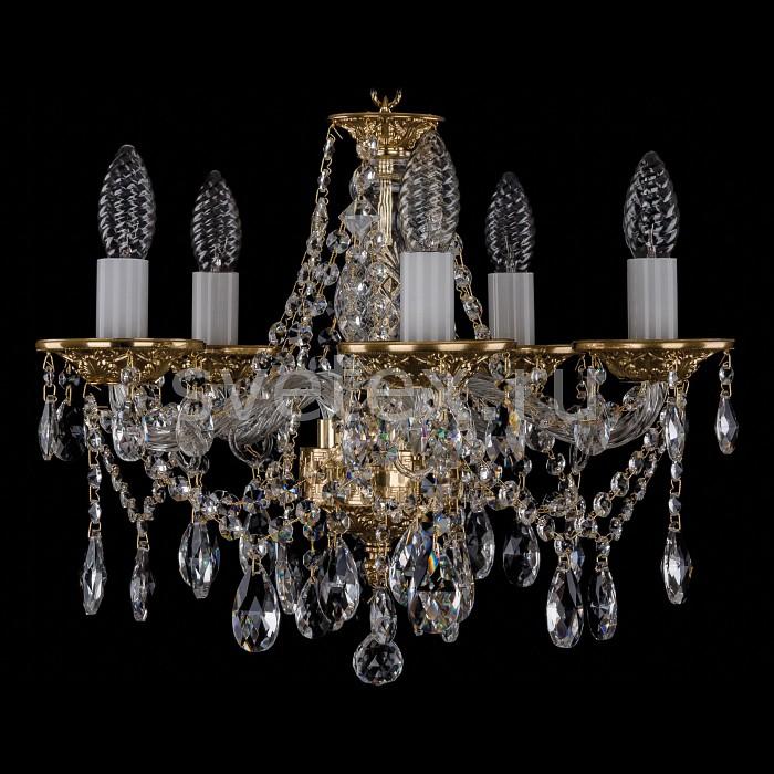 Фото Подвесная люстра Bohemia Ivele Crystal 1613 1613/5/141/G