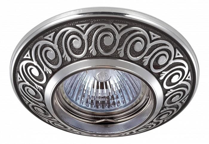 Встраиваемый светильник NovotechВстраиваемые светильники<br>Артикул - NV_370003,Бренд - Novotech (Венгрия),Коллекция - Vintage,Гарантия, месяцы - 24,Время изготовления, дней - 1,Глубина, мм - 17,Диаметр, мм - 100,Размер врезного отверстия, мм - 70,Тип лампы - галогеновая ИЛИсветодиодная [LED],Общее кол-во ламп - 1,Напряжение питания лампы, В - 12,Максимальная мощность лампы, Вт - 50,Лампы в комплекте - отсутствуют,Цвет арматуры - коричневый, хром,Тип поверхности арматуры - глянцевый, рельефный,Материал арматуры - цинк,Необходимые компоненты - трансформатор 12В,Компоненты, входящие в комплект - нет,Форма и тип колбы - полусферическая с рефлектором,Тип цоколя лампы - GX5.3,Класс электробезопасности - III,Напряжение питания, В - 220,Степень пылевлагозащиты, IP - 20,Диапазон рабочих температур - комнатная температура,Дополнительные параметры - цинк с электролитным медным покрытием<br>