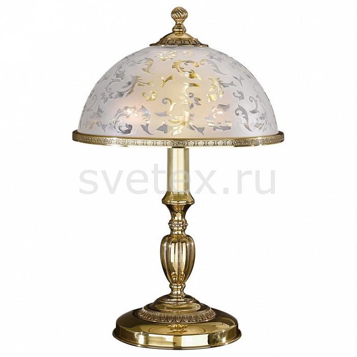 Настольная лампа Reccagni AngeloСветильники<br>Артикул - RA_P_6302_M,Бренд - Reccagni Angelo (Италия),Коллекция - 6302,Гарантия, месяцы - 24,Высота, мм - 480,Диаметр, мм - 280,Тип лампы - компактная люминесцентная [КЛЛ] ИЛИнакаливания ИЛИсветодиодная [LED],Общее кол-во ламп - 1,Напряжение питания лампы, В - 220,Максимальная мощность лампы, Вт - 60,Лампы в комплекте - отсутствуют,Цвет плафонов и подвесок - белый с рисунком и с каймой,Тип поверхности плафонов - матовый,Материал плафонов и подвесок - стекло,Цвет арматуры - золото французское,Тип поверхности арматуры - глянцевый, рельефный,Материал арматуры - латунь,Количество плафонов - 1,Наличие выключателя, диммера или пульта ДУ - выключатель на проводе,Компоненты, входящие в комплект - провод электропитания с вилкой без заземления,Тип цоколя лампы - E27,Класс электробезопасности - II,Степень пылевлагозащиты, IP - 20,Диапазон рабочих температур - комнатная температура<br>