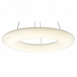Подвесной светильник ST-LuceСветодиодные<br>Артикул - SL902.553.01,Бренд - ST-Luce (Китай),Коллекция - SL902,Гарантия, месяцы - 24,Высота, мм - 1400,Диаметр, мм - 910,Размер упаковки, мм - 980х980х180,Тип лампы - светодиодная [LED],Общее кол-во ламп - 1,Напряжение питания лампы, В - 220,Максимальная мощность лампы, Вт - 120,Лампы в комплекте - светодиодная [LED],Цвет плафонов и подвесок - белый,Тип поверхности плафонов - глянцевый,Материал плафонов и подвесок - акрил,Цвет арматуры - белый,Тип поверхности арматуры - матовый,Материал арматуры - металл,Возможность подлючения диммера - нельзя,Класс электробезопасности - I,Степень пылевлагозащиты, IP - 20,Диапазон рабочих температур - комнатная температура,Дополнительные параметры - регулируется по высоте,  способ крепления светильника к потолку – на монтажной пластине<br>