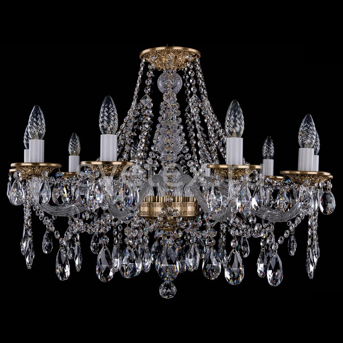 Фото Подвесная люстра Bohemia Ivele Crystal 1613 1613/10/300/FP