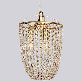 Подвесной светильник FavouriteПодвесные светильники<br>Артикул - FV_1024-3P,Бренд - Favourite (Германия),Коллекция - Caramel,Гарантия, месяцы - 24,Время изготовления, дней - 1,Высота, мм - 500,Диаметр, мм - 230,Тип лампы - компактная люминесцентная [КЛЛ] ИЛИнакаливания ИЛИсветодиодная [LED],Общее кол-во ламп - 3,Напряжение питания лампы, В - 220,Максимальная мощность лампы, Вт - 40,Лампы в комплекте - отсутствуют,Цвет плафонов и подвесок - неокрашенный,Тип поверхности плафонов - прозрачный, рельефный,Материал плафонов и подвесок - хрусталь,Цвет арматуры - золото,Тип поверхности арматуры - глянцевый,Материал арматуры - металл,Возможность подлючения диммера - можно, если установить лампу накаливания,Форма и тип колбы - свеча ИЛИ свеча на ветру,Тип цоколя лампы - E14,Класс электробезопасности - I,Общая мощность, Вт - 120,Степень пылевлагозащиты, IP - 20,Диапазон рабочих температур - комнатная температура<br>
