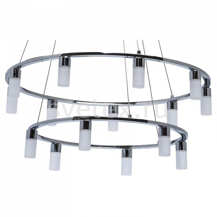 Подвесная люстра MW-LightПолимерные плафоны<br>Артикул - MW_631012315,Бренд - MW-Light (Германия),Коллекция - Ракурс,Гарантия, месяцы - 24,Высота, мм - 1500,Диаметр, мм - 700,Тип лампы - светодиодная [LED],Общее кол-во ламп - 15,Максимальная мощность лампы, Вт - 5,Цвет лампы - белый теплый,Лампы в комплекте - светодиодные [LED],Цвет плафонов и подвесок - белый,Тип поверхности плафонов - матовый,Материал плафонов и подвесок - акрил,Цвет арматуры - хром,Тип поверхности арматуры - глянцевый,Материал арматуры - сталь нержавеющая,Количество плафонов - 15,Возможность подлючения диммера - нельзя,Цветовая температура, K - 3000 K,Световой поток, лм - 6000,Экономичнее лампы накаливания - в 4, 9 раза,Светоотдача, лм/Вт - 80,Класс электробезопасности - I,Напряжение питания, В - 220,Общая мощность, Вт - 75,Степень пылевлагозащиты, IP - 20,Диапазон рабочих температур - комнатная температура,Дополнительные параметры - способ крепления светильника к потолку – на монтажной пластине<br>