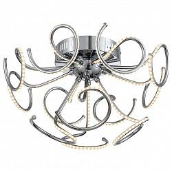 Потолочная люстра ST-LuceПолимерные плафоны<br>Артикул - SL905.112.12,Бренд - ST-Luce (Китай),Коллекция - Exclu,Гарантия, месяцы - 24,Высота, мм - 300,Диаметр, мм - 500,Размер упаковки, мм - 760x760x290,Тип лампы - светодиодная [LED],Общее кол-во ламп - 12,Максимальная мощность лампы, Вт - 38,Лампы в комплекте - светодиодные [LED],Цвет плафонов и подвесок - белый,Тип поверхности плафонов - матовый,Материал плафонов и подвесок - акрил,Цвет арматуры - хром,Тип поверхности арматуры - глянцевый,Материал арматуры - металл,Возможность подлючения диммера - нельзя,Класс электробезопасности - I,Общая мощность, Вт - 456,Степень пылевлагозащиты, IP - 20,Диапазон рабочих температур - комнатная температура,Дополнительные параметры - способ крепления светильника к потолку – на монтажной пластине<br>