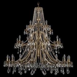 Подвесная люстра Bohemia Ivele CrystalБолее 6 ламп<br>Артикул - BI_1771_20_10_5_490_A_GB,Бренд - Bohemia Ivele Crystal (Чехия),Коллекция - 1771,Гарантия, месяцы - 24,Высота, мм - 1200,Диаметр, мм - 1350,Размер упаковки, мм - 710x710x350,Тип лампы - компактная люминесцентная [КЛЛ] ИЛИнакаливания ИЛИсветодиодная [LED],Общее кол-во ламп - 35,Напряжение питания лампы, В - 220,Максимальная мощность лампы, Вт - 40,Лампы в комплекте - отсутствуют,Цвет плафонов и подвесок - неокрашенный,Тип поверхности плафонов - прозрачный,Материал плафонов и подвесок - хрусталь,Цвет арматуры - золото черненое,Тип поверхности арматуры - глянцевый, рельефный,Материал арматуры - латунь,Возможность подлючения диммера - можно, если установить лампу накаливания,Форма и тип колбы - свеча ИЛИ свеча на ветру,Тип цоколя лампы - E14,Класс электробезопасности - I,Общая мощность, Вт - 1400,Степень пылевлагозащиты, IP - 20,Диапазон рабочих температур - комнатная температура,Дополнительные параметры - способ крепления светильника к потолку - на крюке, указана высота светильника без подвеса<br>