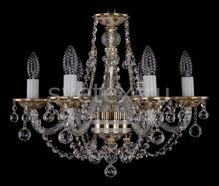 Фото Подвесная люстра Bohemia Ivele Crystal 1606 1606/6/160/GW/Balls