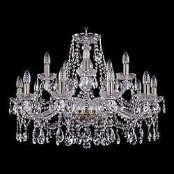 Подвесная люстра Bohemia Ivele CrystalБолее 6 ламп<br>Артикул - BI_1413_10_5_300_Pa,Бренд - Bohemia Ivele Crystal (Чехия),Коллекция - 1413,Гарантия, месяцы - 24,Высота, мм - 580,Диаметр, мм - 820,Размер упаковки, мм - 710x710x350,Тип лампы - компактная люминесцентная [КЛЛ] ИЛИнакаливания ИЛИсветодиодная [LED],Общее кол-во ламп - 15,Напряжение питания лампы, В - 220,Максимальная мощность лампы, Вт - 40,Лампы в комплекте - отсутствуют,Цвет плафонов и подвесок - неокрашенный,Тип поверхности плафонов - прозрачный,Материал плафонов и подвесок - хрусталь,Цвет арматуры - золото с патиной, неокрашенный,Тип поверхности арматуры - глянцевый, прозрачный, рельефный,Материал арматуры - металл, стекло,Возможность подлючения диммера - можно, если установить лампу накаливания,Форма и тип колбы - свеча ИЛИ свеча на ветру,Тип цоколя лампы - E14,Класс электробезопасности - I,Общая мощность, Вт - 600,Степень пылевлагозащиты, IP - 20,Диапазон рабочих температур - комнатная температура,Дополнительные параметры - способ крепления светильника к потолку - на крюке, указана высота светильника без подвеса<br>