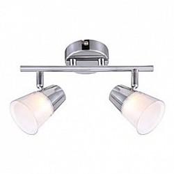 Спот GloboС 2 лампами<br>Артикул - GB_56185-2,Бренд - Globo (Австрия),Коллекция - Teika,Гарантия, месяцы - 24,Тип лампы - светодиодная [LED],Общее кол-во ламп - 2,Напряжение питания лампы, В - 20,Максимальная мощность лампы, Вт - 3,Лампы в комплекте - светодиодные [LED],Цвет плафонов и подвесок - белый, неокрашенный,Тип поверхности плафонов - матовый, прозрачный,Материал плафонов и подвесок - полимер,Цвет арматуры - хром,Тип поверхности арматуры - глянцевый,Материал арматуры - металл,Возможность подлючения диммера - нельзя,Класс электробезопасности - I,Общая мощность, Вт - 6,Степень пылевлагозащиты, IP - 20,Диапазон рабочих температур - комнатная температура,Дополнительные параметры - поворотный светильник<br>