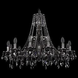 Подвесная люстра Bohemia Ivele CrystalБолее 6 ламп<br>Артикул - BI_1771_12_270_A_NB,Бренд - Bohemia Ivele Crystal (Чехия),Коллекция - 1771,Гарантия, месяцы - 24,Высота, мм - 800,Диаметр, мм - 800,Размер упаковки, мм - 710x710x350,Тип лампы - компактная люминесцентная [КЛЛ] ИЛИнакаливания ИЛИсветодиодная [LED],Общее кол-во ламп - 12,Напряжение питания лампы, В - 220,Максимальная мощность лампы, Вт - 40,Лампы в комплекте - отсутствуют,Цвет плафонов и подвесок - неокрашенный,Тип поверхности плафонов - прозрачный,Материал плафонов и подвесок - хрусталь,Цвет арматуры - никель черненый,Тип поверхности арматуры - глянцевый, рельефный,Материал арматуры - латунь,Возможность подлючения диммера - можно, если установить лампу накаливания,Форма и тип колбы - свеча ИЛИ свеча на ветру,Тип цоколя лампы - E14,Класс электробезопасности - I,Общая мощность, Вт - 480,Степень пылевлагозащиты, IP - 20,Диапазон рабочих температур - комнатная температура,Дополнительные параметры - способ крепления светильника к потолку - на крюке, указана высота светильника без подвеса<br>