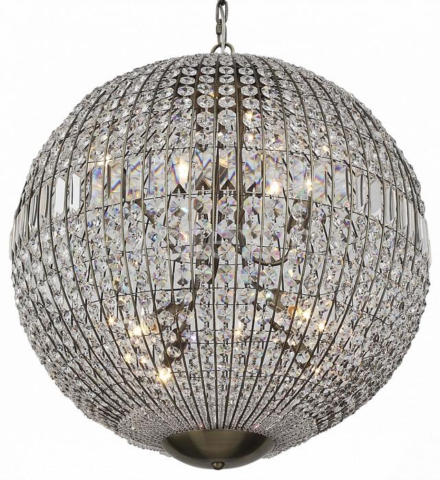Подвесной светильник ST-LuceПодвесные светильники<br>Артикул - SL226.303.08,Бренд - ST-Luce (Китай),Коллекция - Mondo,Гарантия, месяцы - 24,Время изготовления, дней - 1,Высота, мм - 730-1250,Диаметр, мм - 600,Тип лампы - компактная люминесцентная [КЛЛ] ИЛИнакаливания ИЛИсветодиодная [LED],Общее кол-во ламп - 8,Напряжение питания лампы, В - 220,Максимальная мощность лампы, Вт - 40,Лампы в комплекте - отсутствуют,Цвет плафонов и подвесок - неокрашенный,Тип поверхности плафонов - прозрачный,Материал плафонов и подвесок - хрусталь,Цвет арматуры - бронза,Тип поверхности арматуры - матовый,Материал арматуры - металл,Количество плафонов - 1,Возможность подлючения диммера - можно, если установить лампу накаливания,Тип цоколя лампы - E14,Класс электробезопасности - I,Общая мощность, Вт - 320,Степень пылевлагозащиты, IP - 20,Диапазон рабочих температур - комнатная температура,Дополнительные параметры - регулируется по высоте,  способ крепления светильника к потолку – на крюке<br>