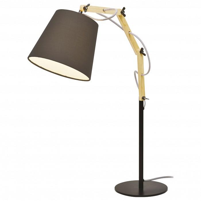 Настольная лампа Arte LampС абажуром<br>Артикул - AR_A5700LT-1BK,Бренд - Arte Lamp (Италия),Коллекция - Pinocchio,Время изготовления, дней - 1,Ширина, мм - 200,Высота, мм - 630,Выступ, мм - 550,Тип лампы - компактная люминесцентная [КЛЛ] ИЛИнакаливания ИЛИсветодиодная [LED],Общее кол-во ламп - 1,Напряжение питания лампы, В - 220,Максимальная мощность лампы, Вт - 60,Лампы в комплекте - отсутствуют,Цвет плафонов и подвесок - черный,Тип поверхности плафонов - матовый,Материал плафонов и подвесок - текстиль,Цвет арматуры - бежевый, коричневый,Тип поверхности арматуры - глянцевый, матовый,Материал арматуры - МДФ, металл,Количество плафонов - 1,Наличие выключателя, диммера или пульта ДУ - выключатель на проводе,Компоненты, входящие в комплект - провод электропитания с вилкой без заземления,Тип цоколя лампы - E27,Класс электробезопасности - II,Степень пылевлагозащиты, IP - 20,Диапазон рабочих температур - комнатная температура,Дополнительные параметры - провод электропитания с вилкой без заземления<br>