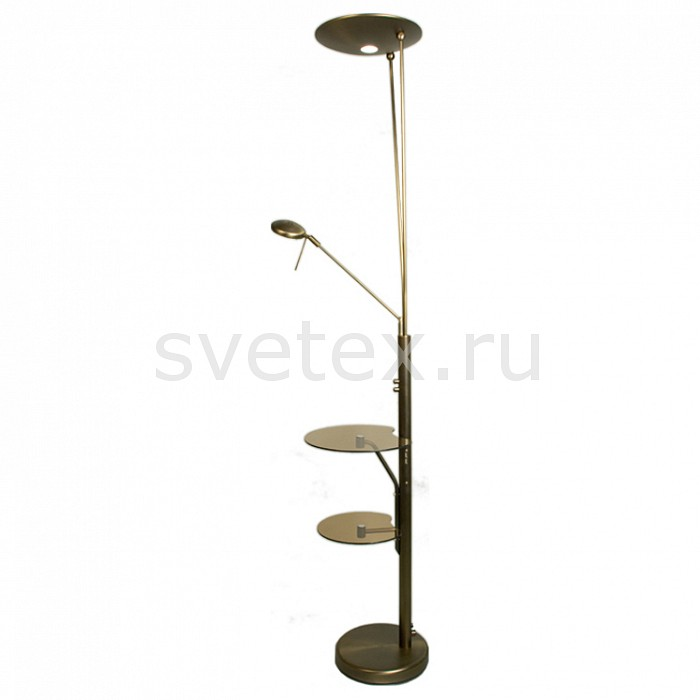 Фото Стол журнальный с торшером и с подсветкой Тандем CL801005F