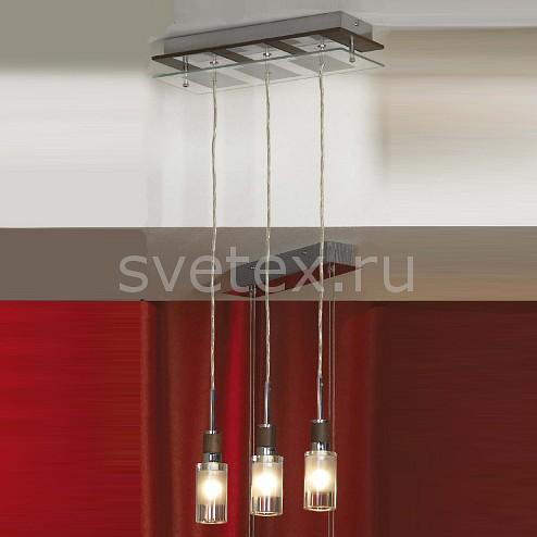 Подвесной светильник LussoleСветильники<br>Артикул - LSQ-5606-03,Бренд - Lussole (Италия),Коллекция - Altamura,Гарантия, месяцы - 24,Длина, мм - 350,Ширина, мм - 140,Высота, мм - 1400,Тип лампы - галогеновая,Общее кол-во ламп - 3,Напряжение питания лампы, В - 220,Максимальная мощность лампы, Вт - 40,Цвет лампы - белый теплый,Лампы в комплекте - галогеновые G9,Цвет плафонов и подвесок - неокрашенный с каймой,Тип поверхности плафонов - матовый,Материал плафонов и подвесок - стекло,Цвет арматуры - вишня, хром,Тип поверхности арматуры - глянцевый,Материал арматуры - металл,Количество плафонов - 3,Возможность подлючения диммера - можно,Форма и тип колбы - пальчиковая,Тип цоколя лампы - G9,Цветовая температура, K - 2800 - 3200 K,Экономичнее лампы накаливания - на 50%,Класс электробезопасности - I,Общая мощность, Вт - 120,Степень пылевлагозащиты, IP - 20,Диапазон рабочих температур - комнатная температура<br>