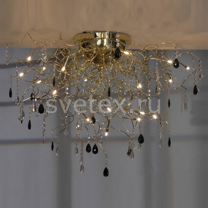 Потолочная люстра LussoleБолее 6 ламп<br>Артикул - LSC-2913-19,Бренд - Lussole (Италия),Коллекция - Benevento,Гарантия, месяцы - 24,Время изготовления, дней - 1,Высота, мм - 630,Диаметр, мм - 1000,Тип лампы - галогеновая,Общее кол-во ламп - 19,Напряжение питания лампы, В - 12,Максимальная мощность лампы, Вт - 20,Цвет лампы - белый теплый,Лампы в комплекте - галогеновые G4,Цвет плафонов и подвесок - неокрашенный, черный,Тип поверхности плафонов - глянцевый,Материал плафонов и подвесок - хрусталь,Цвет арматуры - золото,Тип поверхности арматуры - глянцевый,Материал арматуры - сталь,Возможность подлючения диммера - нельзя,Компоненты, входящие в комплект - трансформатор 12 В,Форма и тип колбы - пальчиковая,Тип цоколя лампы - G4,Цветовая температура, K - 2800 - 3200 K,Экономичнее лампы накаливания - на 50%,Класс электробезопасности - III,Напряжение питания, В - 220,Общая мощность, Вт - 380,Степень пылевлагозащиты, IP - 20,Диапазон рабочих температур - комнатная температура<br>