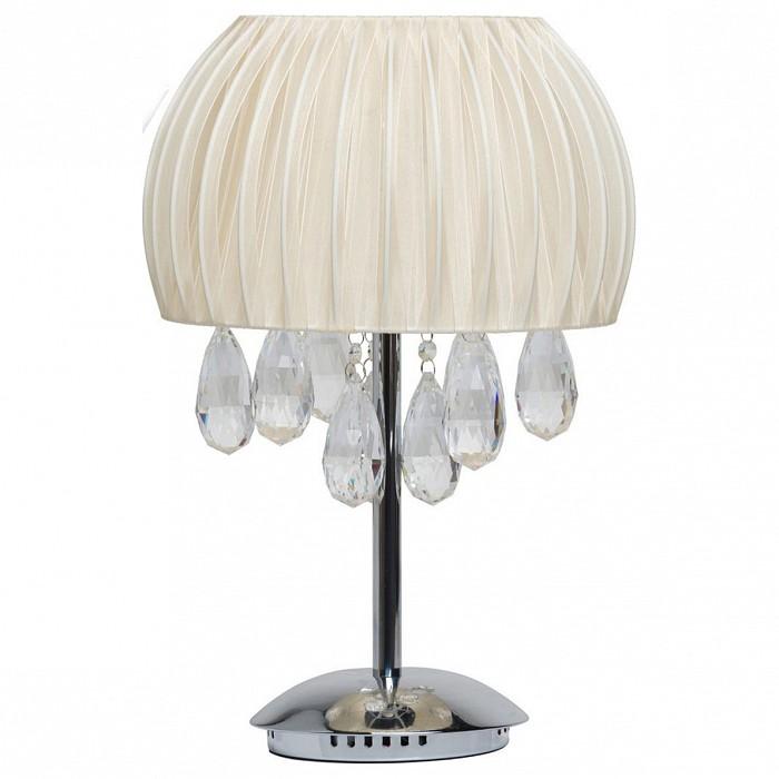 Настольная лампа MW-LightТекстильный плафон<br>Артикул - MW_465033404,Бренд - MW-Light (Германия),Коллекция - Жаклин 4,Гарантия, месяцы - 24,Высота, мм - 480,Диаметр, мм - 340,Тип лампы - галогеновая,Общее кол-во ламп - 4,Напряжение питания лампы, В - 12,Максимальная мощность лампы, Вт - 20,Цвет лампы - белый теплый,Лампы в комплекте - галогеновые G4,Цвет плафонов и подвесок - белый, неокрашенный,Тип поверхности плафонов - матовый, рельефный,Материал плафонов и подвесок - органза, хрусталь,Цвет арматуры - хром,Тип поверхности арматуры - глянцевый,Материал арматуры - металл,Количество плафонов - 1,Наличие выключателя, диммера или пульта ДУ - выключатель на проводе,Компоненты, входящие в комплект - трансформатор 12В, провод электропитания с вилкой без заземления,Форма и тип колбы - пальчиковая,Тип цоколя лампы - G4,Цветовая температура, K - 2800 - 3200 K,Экономичнее лампы накаливания - на 50%,Класс электробезопасности - II,Напряжение питания, В - 220,Общая мощность, Вт - 80,Степень пылевлагозащиты, IP - 20,Диапазон рабочих температур - комнатная температура<br>