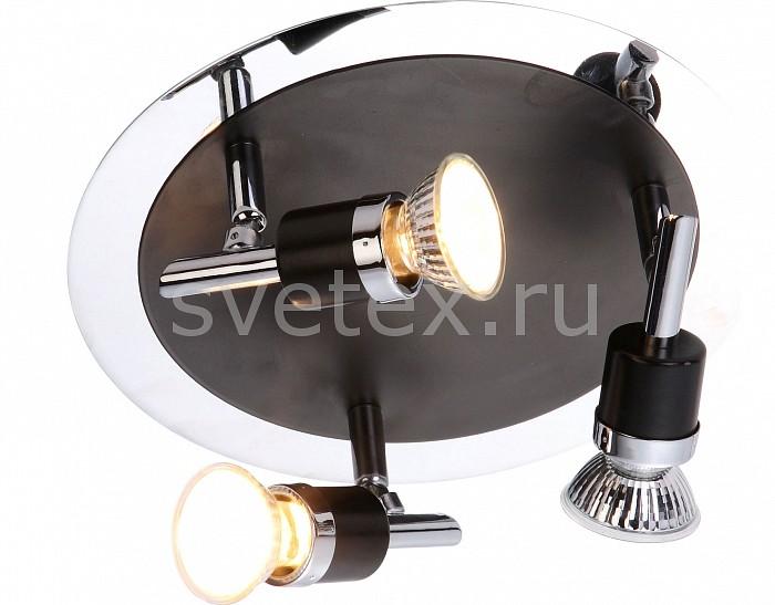 Спот GloboС 3 лампами<br>Артикул - GB_57600-3,Бренд - Globo (Австрия),Коллекция - Diamondbacks,Гарантия, месяцы - 24,Выступ, мм - 135,Диаметр, мм - 240,Размер упаковки, мм - 820x130x210,Тип лампы - галогеновая,Общее кол-во ламп - 3,Напряжение питания лампы, В - 220,Максимальная мощность лампы, Вт - 50,Цвет лампы - белый теплый,Лампы в комплекте - галогеновые GU10,Цвет арматуры - хром, черный,Тип поверхности арматуры - глянцевый, матовый,Материал арматуры - металл,Возможность подлючения диммера - можно,Форма и тип колбы - полусферическая с рефлектором,Тип цоколя лампы - GU10,Цветовая температура, K - 2800 - 3200 K,Экономичнее лампы накаливания - на 50%,Класс электробезопасности - I,Общая мощность, Вт - 150,Степень пылевлагозащиты, IP - 20,Диапазон рабочих температур - комнатная температура,Дополнительные параметры - поворотный светильник<br>