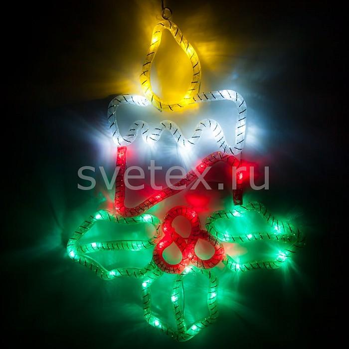 Фото Панно световое Feron x 35 см x 27 см LT035 Снежинка