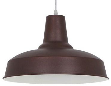Подвесной светильник Odeon LightБарные<br>Артикул - OD_3363_1,Бренд - Odeon Light (Италия),Коллекция - Bits,Гарантия, месяцы - 24,Высота, мм - 260-1245,Диаметр, мм - 350,Тип лампы - компактная люминесцентная [КЛЛ] ИЛИнакаливания ИЛИсветодиодная [LED],Общее кол-во ламп - 1,Напряжение питания лампы, В - 220,Максимальная мощность лампы, Вт - 60,Лампы в комплекте - отсутствуют,Цвет плафонов и подвесок - коричневый,Тип поверхности плафонов - матовый,Материал плафонов и подвесок - металл,Цвет арматуры - коричневый,Тип поверхности арматуры - матовый,Материал арматуры - металл,Количество плафонов - 1,Возможность подлючения диммера - можно, если установить лампу накаливания,Тип цоколя лампы - E27,Класс электробезопасности - I,Степень пылевлагозащиты, IP - 20,Диапазон рабочих температур - комнатная температура,Дополнительные параметры - способ крепления светильника к потолку - на монтажной пластине, светильник регулируется по высоте<br>