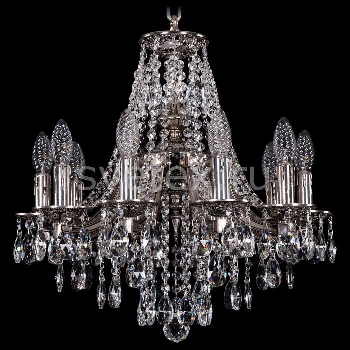Подвесная люстра Bohemia Ivele CrystalБолее 6 ламп<br>Артикул - BI_1771_10_150_B_NB,Бренд - Bohemia Ivele Crystal (Чехия),Коллекция - 1771,Гарантия, месяцы - 24,Высота, мм - 440,Диаметр, мм - 520,Размер упаковки, мм - 450x450x200,Тип лампы - компактная люминесцентная [КЛЛ] ИЛИнакаливания ИЛИсветодиодная [LED],Общее кол-во ламп - 10,Напряжение питания лампы, В - 220,Максимальная мощность лампы, Вт - 40,Лампы в комплекте - отсутствуют,Цвет плафонов и подвесок - неокрашенный,Тип поверхности плафонов - прозрачный,Материал плафонов и подвесок - хрусталь,Цвет арматуры - никель черненый,Тип поверхности арматуры - матовый,Материал арматуры - металл,Возможность подлючения диммера - можно, если установить лампу накаливания,Форма и тип колбы - свеча ИЛИ свеча на ветру,Тип цоколя лампы - E14,Класс электробезопасности - I,Общая мощность, Вт - 400,Степень пылевлагозащиты, IP - 20,Диапазон рабочих температур - комнатная температура,Дополнительные параметры - способ крепления светильника к потолку - на крюке, указана высота светильники без подвеса<br>