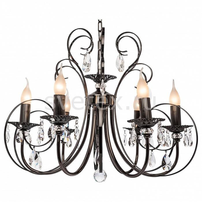 Подвесная люстра SilverLight5 или 6 ламп<br>Артикул - SL_155.59.6,Бренд - SilverLight (Франция),Коллекция - Vienna,Гарантия, месяцы - 24,Высота, мм - 700,Диаметр, мм - 600,Тип лампы - компактная люминесцентная [КЛЛ] ИЛИнакаливания ИЛИсветодиодная [LED],Общее кол-во ламп - 6,Напряжение питания лампы, В - 220,Максимальная мощность лампы, Вт - 60,Лампы в комплекте - отсутствуют,Цвет плафонов и подвесок - неокрашенный,Тип поверхности плафонов - прозрачный,Материал плафонов и подвесок - хрусталь,Цвет арматуры - жемчуг черный,Тип поверхности арматуры - глянцевый,Материал арматуры - металл,Возможность подлючения диммера - можно, если установить лампу накаливания,Форма и тип колбы - свеча ИЛИ свеча на ветру,Тип цоколя лампы - E14,Класс электробезопасности - I,Общая мощность, Вт - 360,Степень пылевлагозащиты, IP - 20,Диапазон рабочих температур - комнатная температура,Дополнительные параметры - способ крепления светильника на потолке - на крюке, указана высота светильника без подвеса<br>